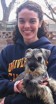 Photo of Rescue Schnauzer Puppy Olivia